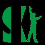Ski logo green