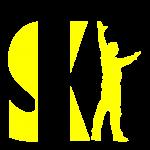 Ski logo yellow