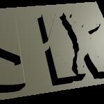 SKI 3D GRAY 1
